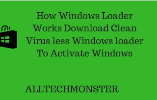 How Windows Loader Works For Activating Windows For Free