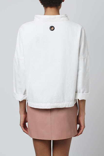 white sailor top, white sailor jumper, topshop sailor jumper,