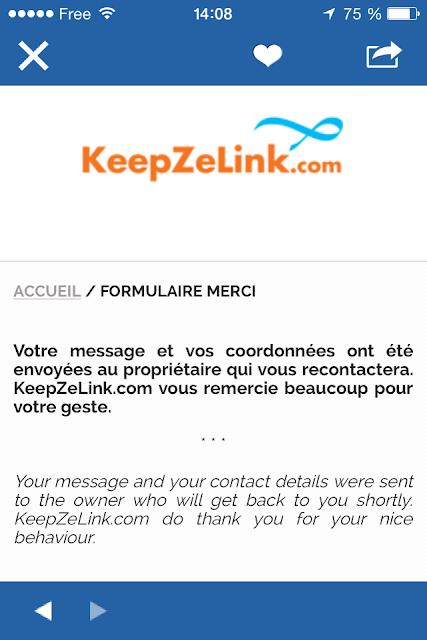 KeepZeLink