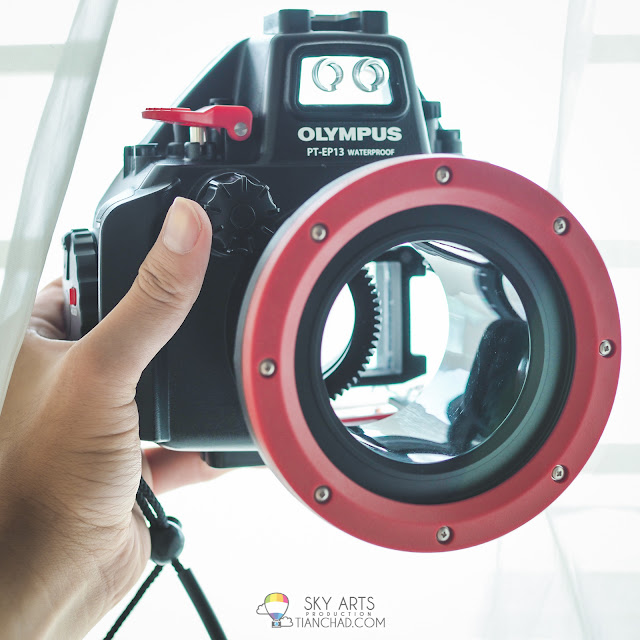Olympus PT-EP13 Waterproof housing for Olympus EM5 Mark II