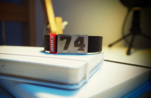 BRAYCE - THE ORIGINAL SPORT BRACELET WITH YOUR NUMBER | DAS SPORTARMBAND