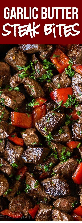 Garlic Butter Steak Bites Recipe