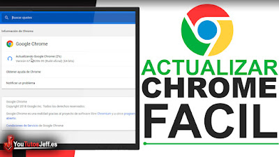 Como Actualizar Google Chrome a la Ultima Versión - Trucos Chrome