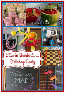 Have a Wonderful Birthday Tea Party in Wonderland