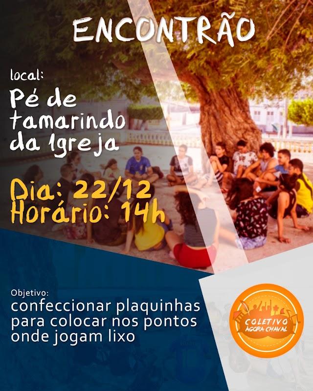 Convite | Coletivo Ágora Chaval realiza ações socioculturais/ambientais em Chaval.