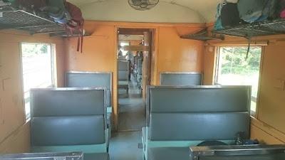 Kerusi train Aranyaprathet ke Bangkok
