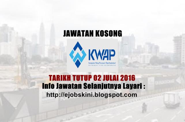 Jawatan Kosong di KWAP