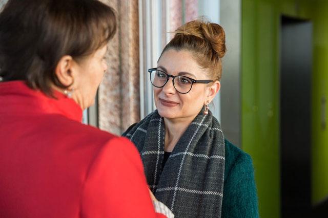 Gabriele Fuchs im Gespräch mit Chrissie aus der Edelfabrik