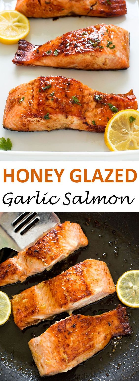 Honey Garlic Salmon Recipes