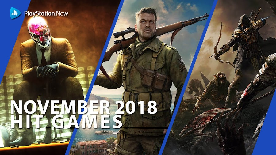 playstation now hit ps4 games november 2018