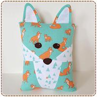 Fox & Racoon Pillows