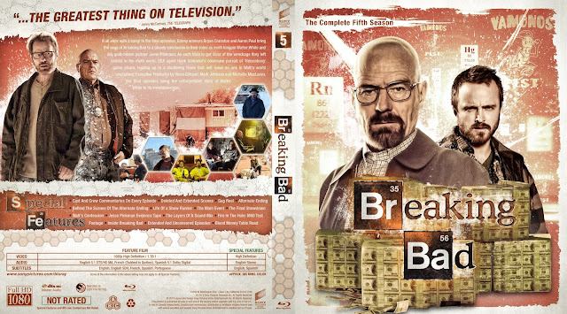 Breaking Bad Season 5 Bluray Cover