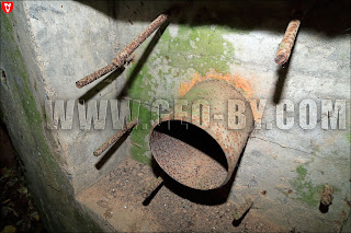 Внутри бункера №17 Слуцкого УР у деревни Римаши