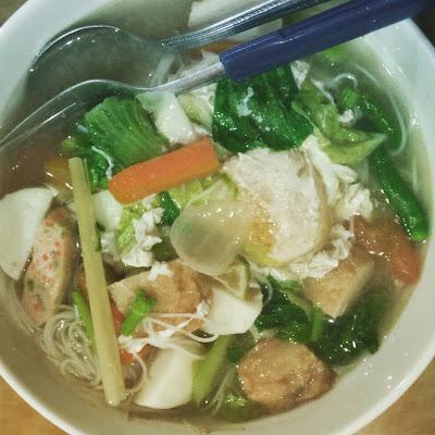 Bihun sup mudah dan sedap, resepi bihun sup, resepi bihun sup mudah dan sedap, bihun sup mudah dan sedap, bihun sup siam, bihun sup, bihun sup bebola ikan, bihun sup pick & mix, bihun, sup, sup siam