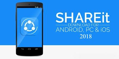 تحميل برنامج شير ات 2018 SHAREit مجانا للكمبيوتر والموبايل