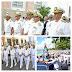 Armada de República Dominicana realiza tradicional procesión de la patrona de la institución Santísima Virgen del Amparo.