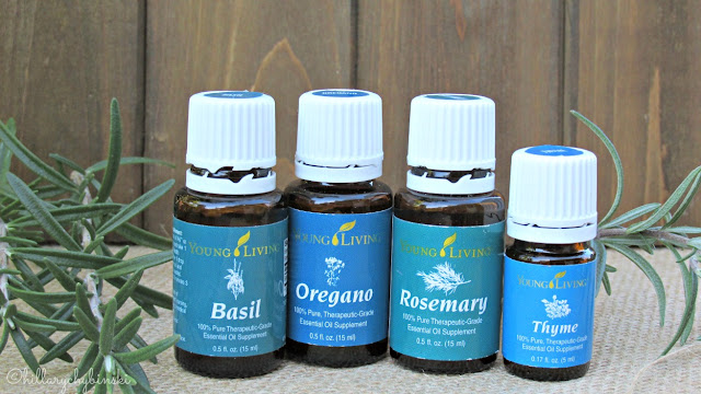 Young Living Essential Oils Used in Making DIY Flavored Sea Salt