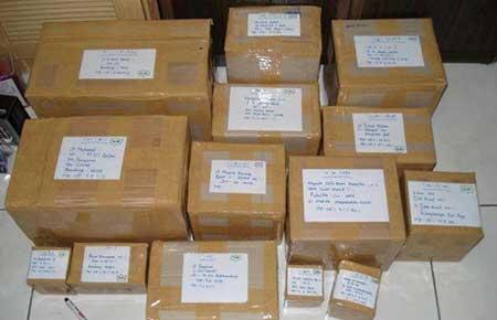 Cara Mengirim Paket Barang di Tiki JNE