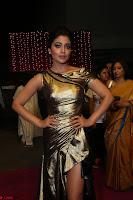Shreya Saran in Skin Tight Golden Gown ~  Exclusive 035.JPG