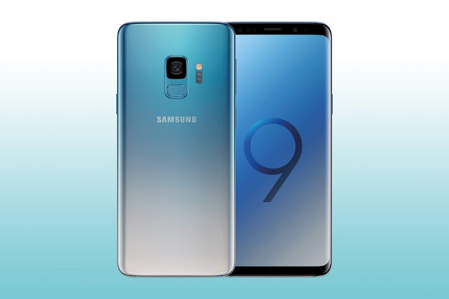 Galaxy S9 and S9+ in Polaris Blue
