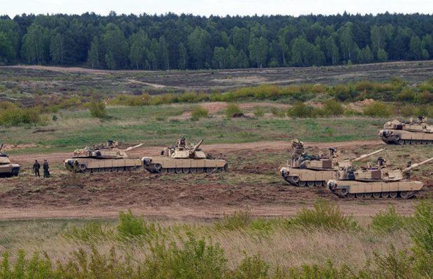 EEUU despliega tropas y blindados en la frontera entre Turquía y Siria (fotos)