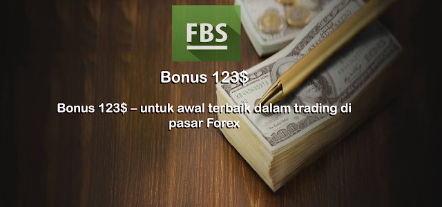 Bonus $123 dari FBS