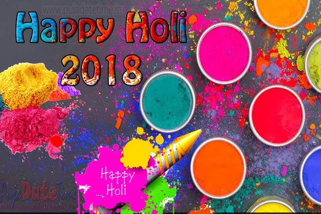 Latest Happy Holi 2018 Wallpaper