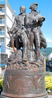 Lewis & Clark Statue Seaside Oregon