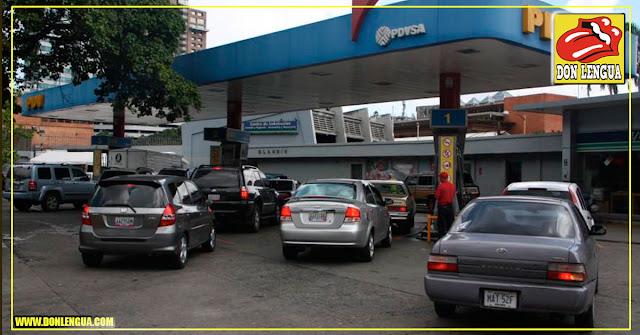 PDVSA no logra sostener consumo interno de Gasolina - Grave escasez de combustibles
