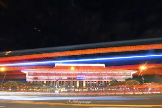 台湾旅行 台北駅の夜景