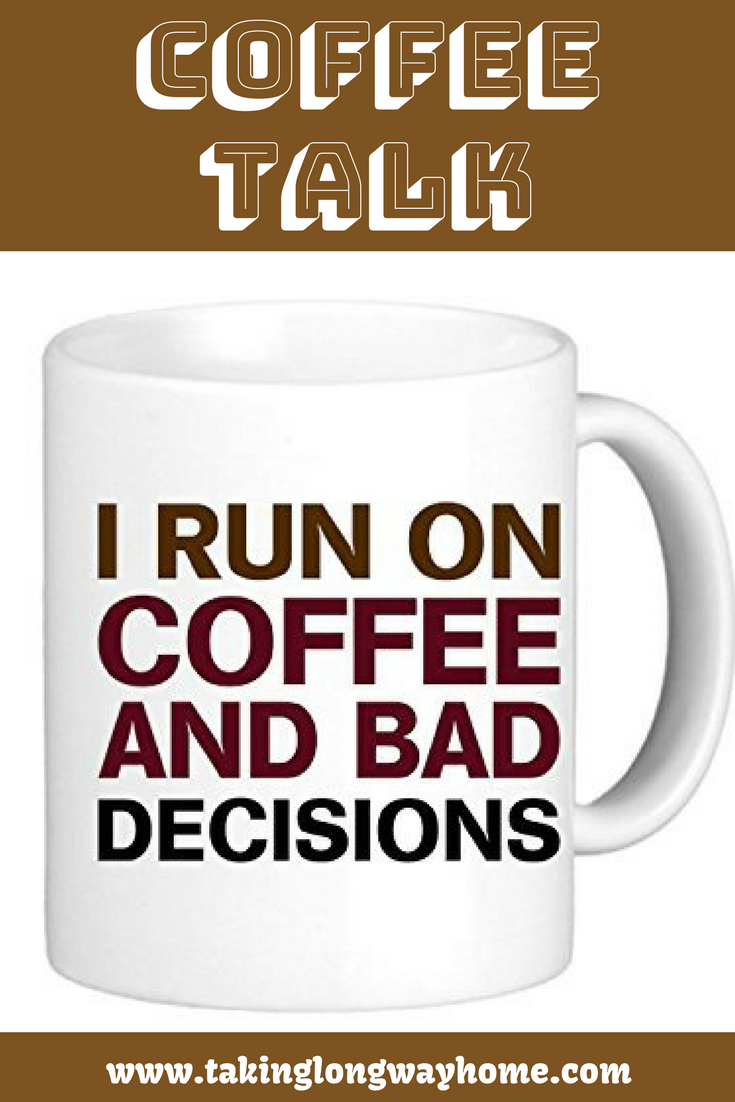 Bad Decisions Coffee Proposal Stripper