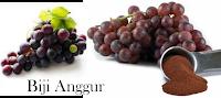 biji anggur diet sehat alami