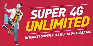 Paket Super 4G Unlimited Smartfren, Harga dan Cara Daftar