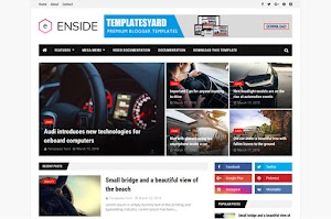 Enside - Responsive Blogger Template