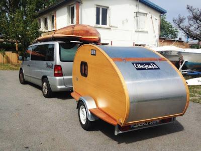 mini caravane teardrop the dobson factory. Black Bedroom Furniture Sets. Home Design Ideas