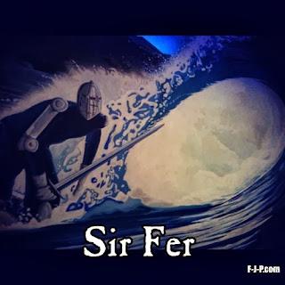Sir Fer Surfing Knight