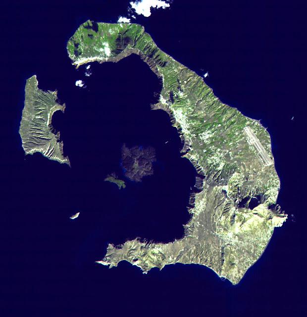 Olive branch may not settle argument of Santorini eruption date