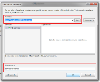 WCF tutorial to Insert, Bind, Edit, update and Delete the record from sql server database in Asp.net