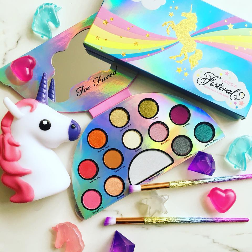 Too Faced Life's a Festival Palette