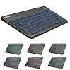 Backlit Bluetooth Keyboard, TeckNet Universal Ultra-Slim Portable Illuminated 7-Colors Adjustable Bluetooth Wireless Keyboard