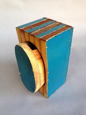 Ben Hancock | Something Blue | bandsaw box | $170