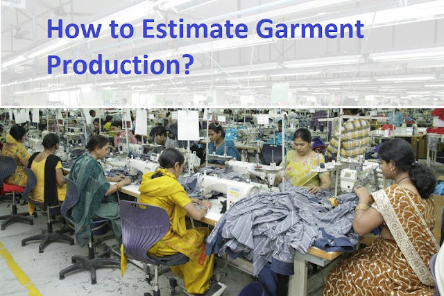 Garment production estimation