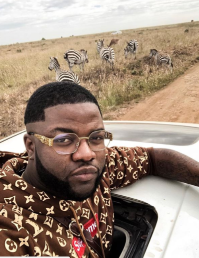 Fans come for Skales over his new look