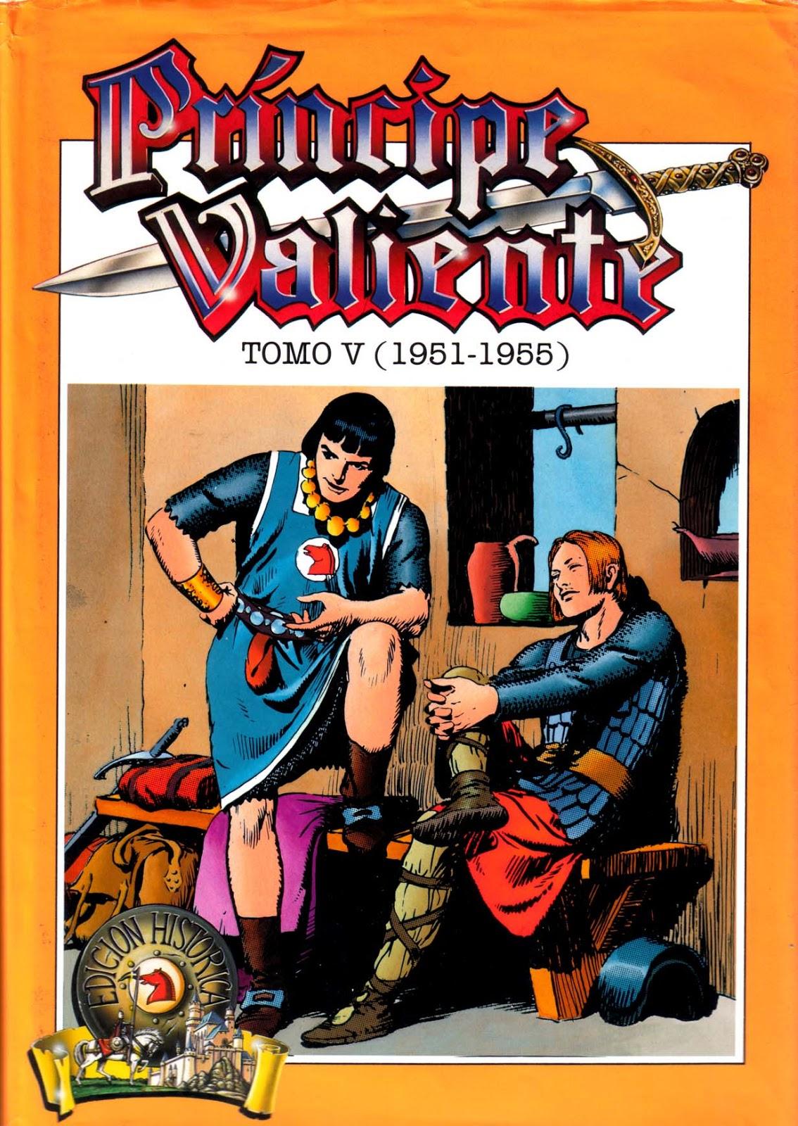el club del guillo: El Principe Valiente Tomo 5