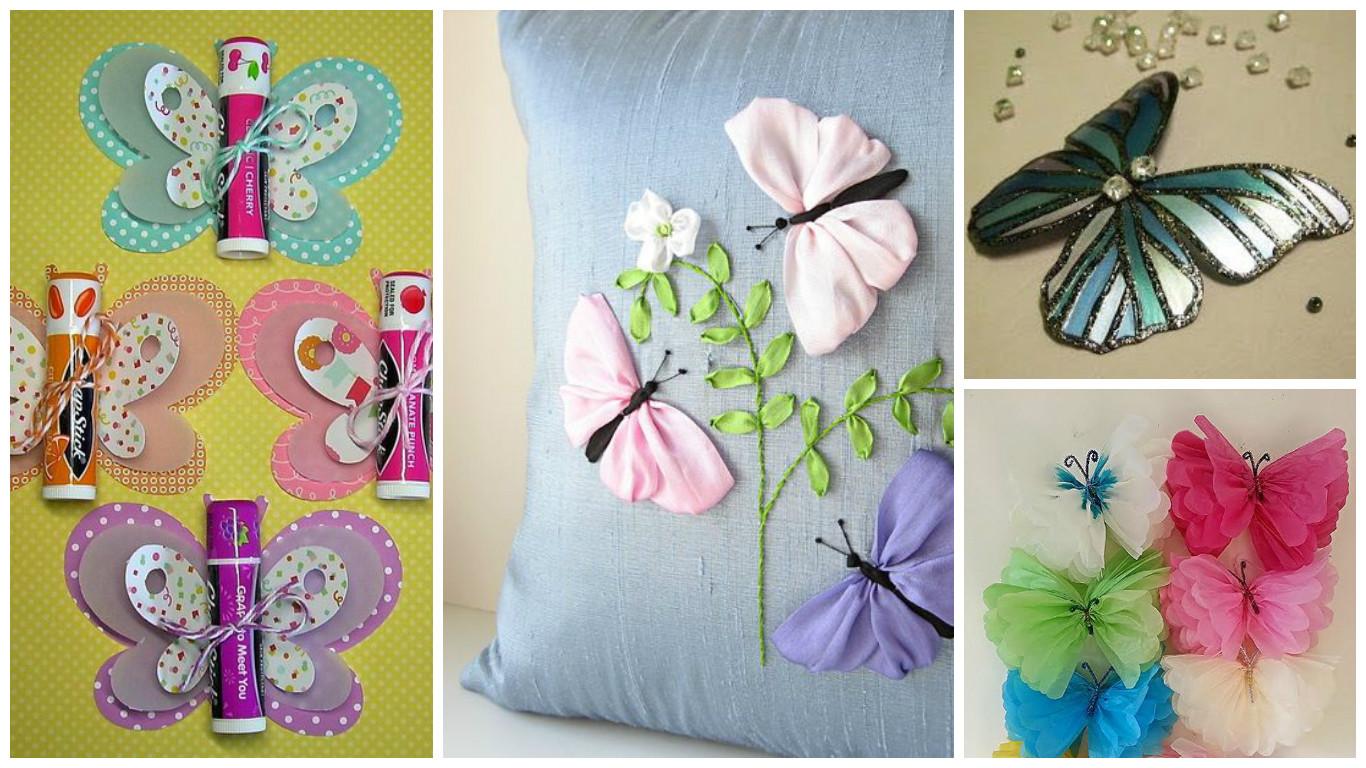 7 manualidades con mariposas que puedes hacer para toda - Con idea de manualidades ...