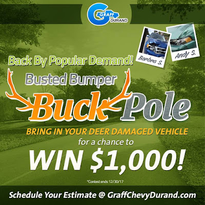 Busted Bumper Buck Pole Contest