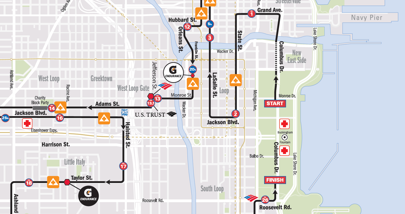 der laufgedanke: sonniger chicago marathon oder: was haben