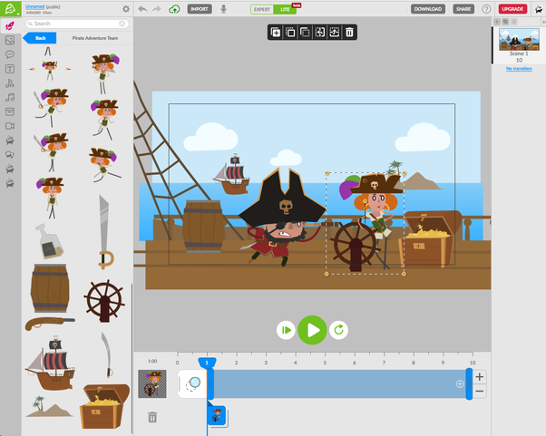 Kids Animation Software