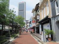 singapore viaggio in solitaria