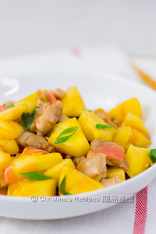 菠蘿炒雞丁 Pineapple Chicken Stir Fry02